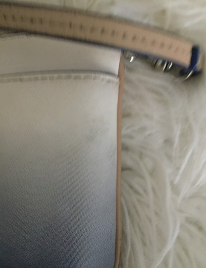 Coach Wristlet in blue and white Image 8