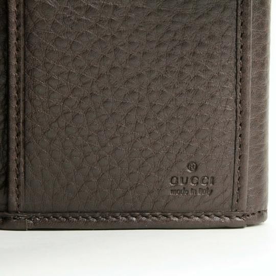 Gucci Brown Leather GG Horsebit Long Wallet with GRG Web 295351 2061 Image 6