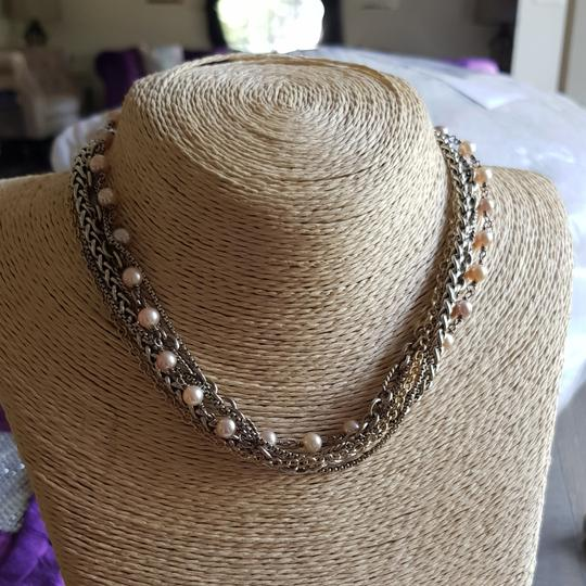 Preload https://item5.tradesy.com/images/david-yurman-multi-chain-pearl-gold-and-silver-necklace-25952169-0-1.jpg?width=440&height=440