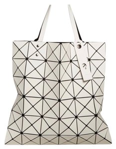 Issey Miyake Tote in Motty Grey
