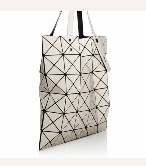 Issey Miyake Tote in Motty Grey Image 2