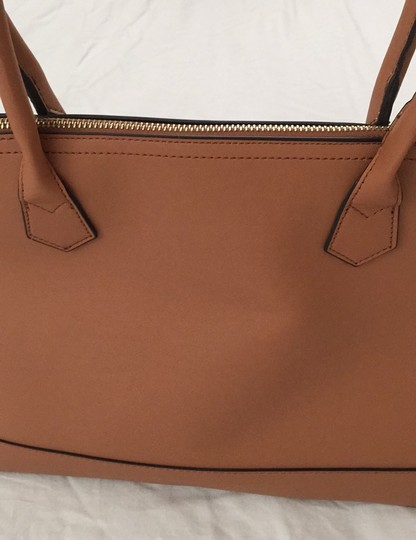 Not branded Simple Basic Clean Classic Professional Satchel in Tan Image 10