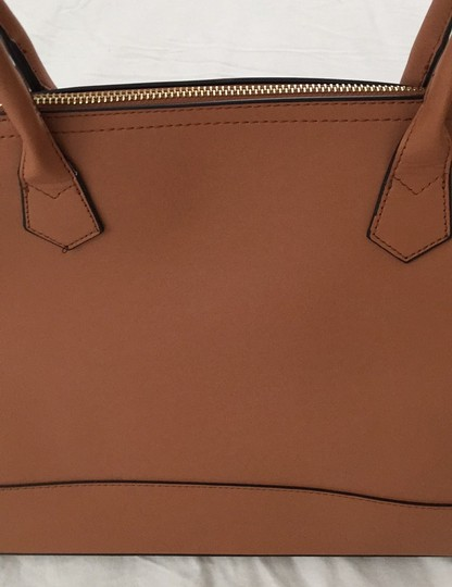 Not branded Simple Basic Clean Classic Professional Satchel in Tan Image 11