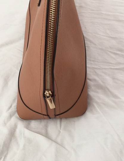 Not branded Simple Basic Clean Classic Professional Satchel in Tan Image 3