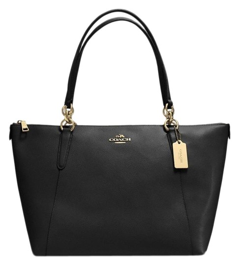Preload https://img-static.tradesy.com/item/25952182/coach-ava-in-crossgrain-black-leather-tote-0-1-540-540.jpg