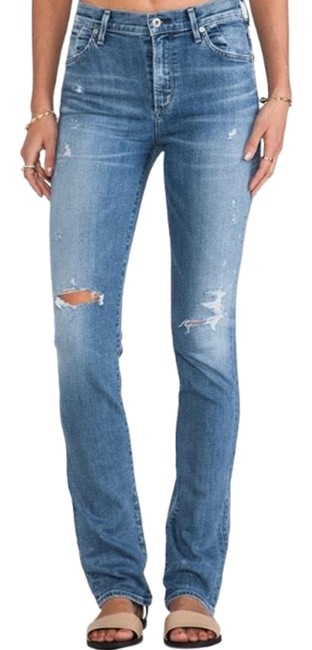 Preload https://img-static.tradesy.com/item/25952202/citizens-of-humanity-blue-medium-wash-arley-straight-leg-jeans-size-2-xs-26-0-2-650-650.jpg