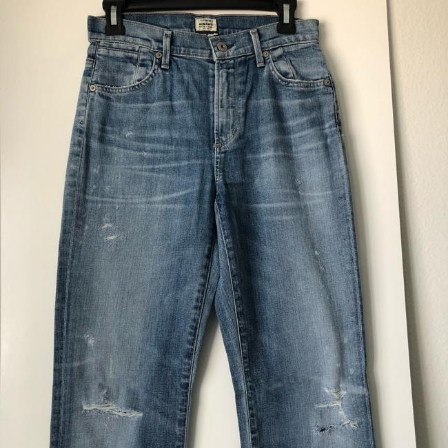 Citizens of Humanity Straight Leg Jeans-Medium Wash Image 3