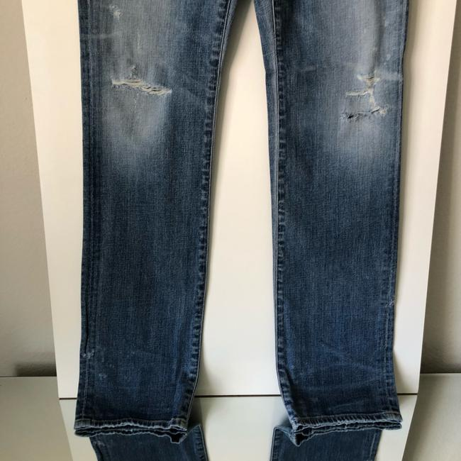 Citizens of Humanity Straight Leg Jeans-Medium Wash Image 4