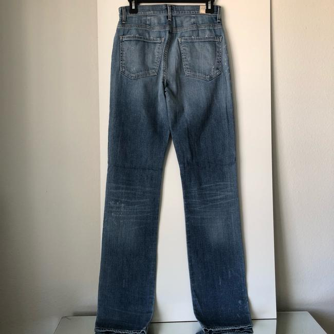 Citizens of Humanity Straight Leg Jeans-Medium Wash Image 6