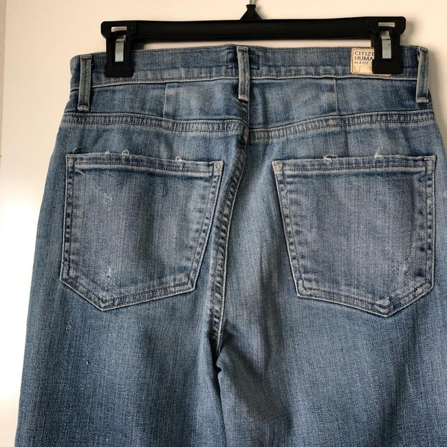 Citizens of Humanity Straight Leg Jeans-Medium Wash Image 7