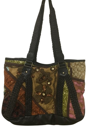 Antik Batik Tote in multi Image 0
