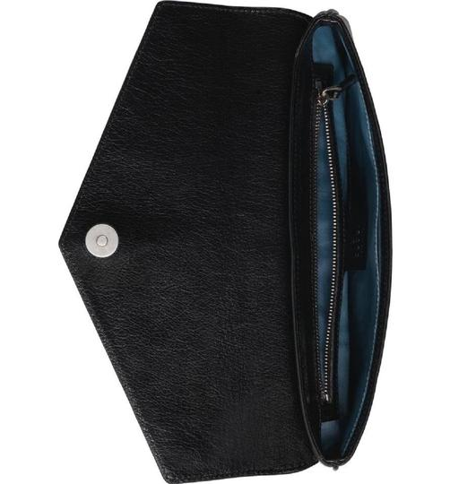 Gucci Gg-archive-p Envelope East Broadway Black Clutch Image 4