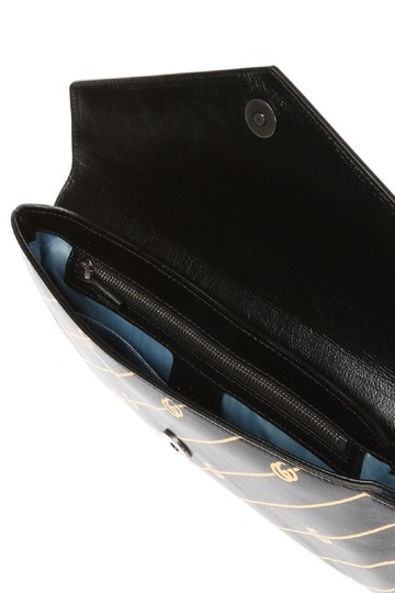 Gucci Gg-archive-p Envelope East Broadway Black Clutch Image 6