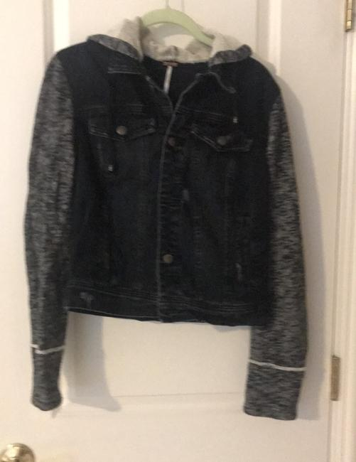 Free People black Womens Jean Jacket Image 1