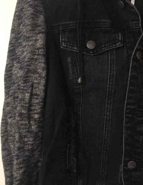 Free People black Womens Jean Jacket Image 2