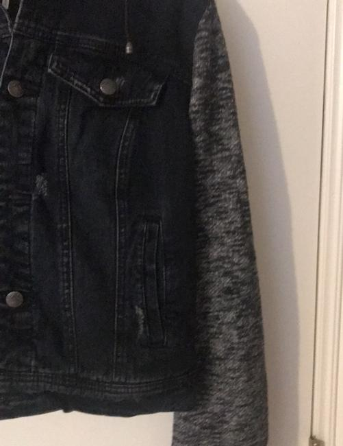 Free People black Womens Jean Jacket Image 4