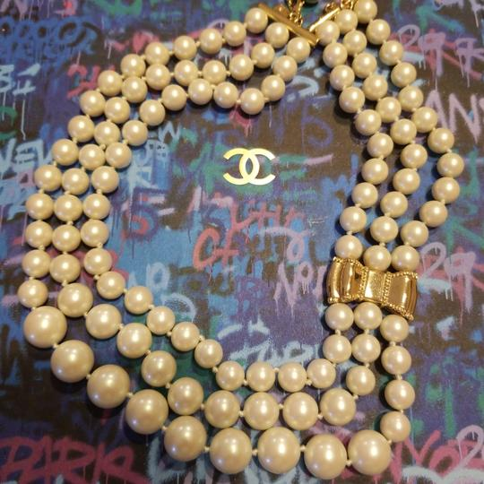 Kate Spade Kate Spade Moon River Triple Strands Pearl Necklace Image 3