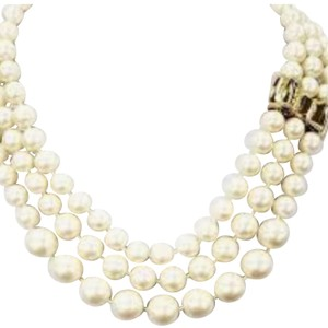 Kate Spade Kate Spade Moon River Triple Strands Pearl Necklace