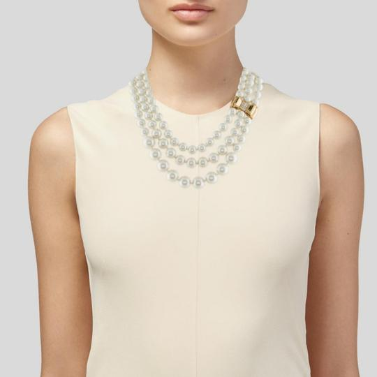 Kate Spade Kate Spade Moon River Triple Strands Pearl Necklace Image 4