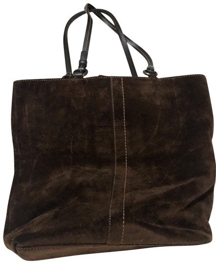 Preload https://img-static.tradesy.com/item/25952355/coach-bag-brown-suede-leather-tote-0-3-540-540.jpg