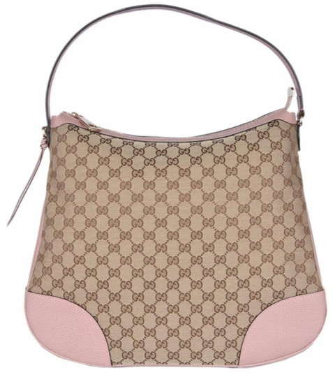 Preload https://img-static.tradesy.com/item/25952392/gucci-bree-new-leather-purse-beigepink-canvas-hobo-bag-0-0-540-540.jpg