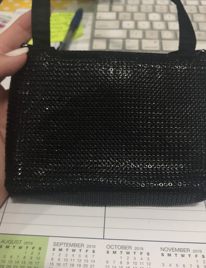Lord & Taylor Black Clutch Image 3