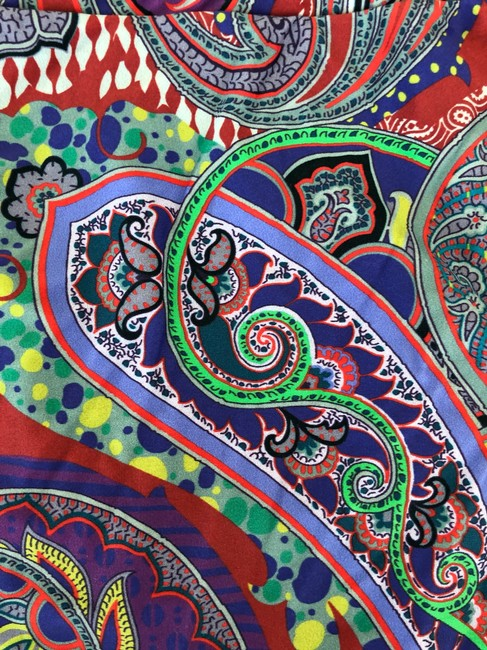 Etro Etro Multicolor paisley print halter top swimsuit size 6 US size 42 Italy Image 1