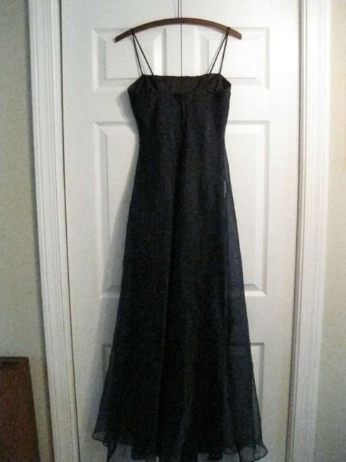 Linda Burnell Sequin Organza Taffeta Dress