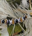 Artisan Crafted Artisan Crafted Sterling Onyx Tiger Eye Bracelet Image 2