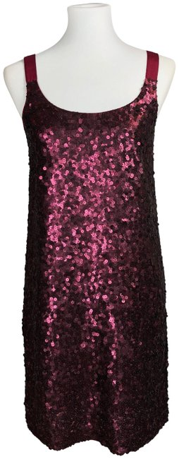 Preload https://img-static.tradesy.com/item/25952663/theory-cranberry-red-alegra-sequin-short-cocktail-dress-size-4-s-0-1-650-650.jpg