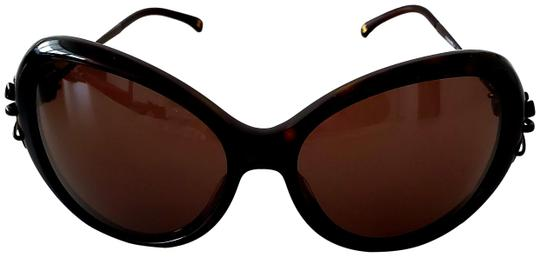 Preload https://img-static.tradesy.com/item/25952718/chanel-brown-bow-5178-oval-style-sunglasses-0-1-540-540.jpg