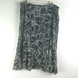 Talbots Skirt Black White