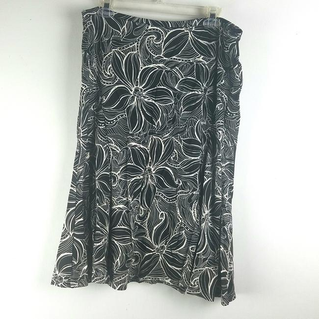 Talbots Skirt Black White Image 0