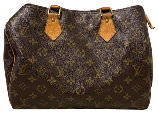 Preload https://img-static.tradesy.com/item/25952773/louis-vuitton-speedy-30-brown-leather-satchel-0-1-540-540.jpg