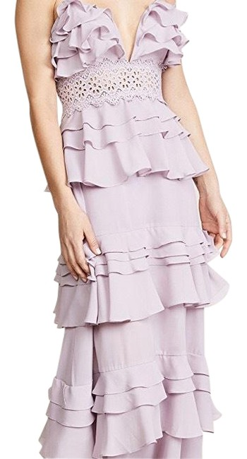 Preload https://img-static.tradesy.com/item/25952825/glamorous-lilac-true-decadence-ruffle-gown-long-casual-maxi-dress-size-6-s-0-1-650-650.jpg