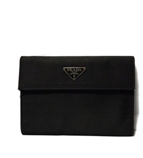 Preload https://img-static.tradesy.com/item/25952897/prada-tessuto-black-nylon-wallet-0-0-540-540.jpg