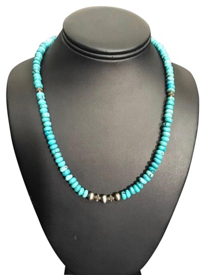 Preload https://img-static.tradesy.com/item/25952940/turquoise-sterling-silver-necklace-0-1-540-540.jpg