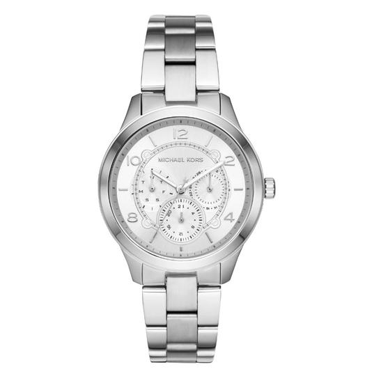Michael Kors NEW Women's Runway Chronograph Stainless Steel Watch MK6587 Image 1