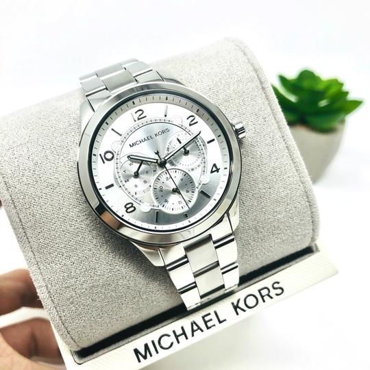 Michael Kors NEW Women's Runway Chronograph Stainless Steel Watch MK6587 Image 11