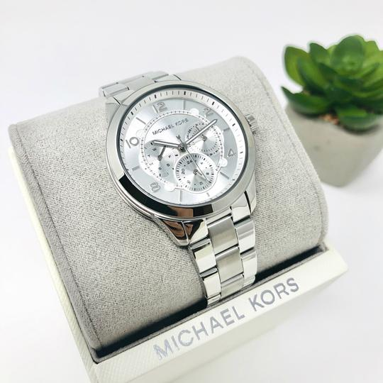 Michael Kors NEW Women's Runway Chronograph Stainless Steel Watch MK6587 Image 5
