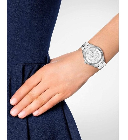 Michael Kors NEW Women's Runway Chronograph Stainless Steel Watch MK6587 Image 6