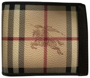 Burberry classic check bifold wallet