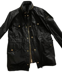 Burberry black and gold Jacket