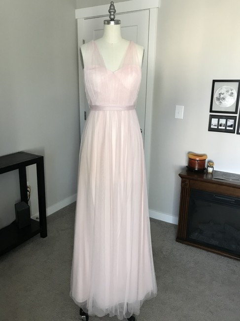 Item - Blush Tulle Annabelle Formal Bridesmaid/Mob Dress Size 2 (XS)