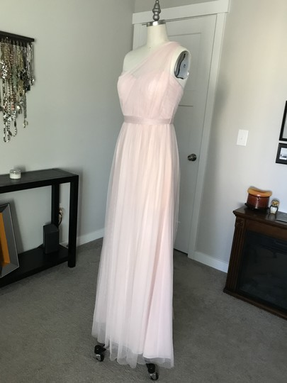 BHLDN Blush Tulle Annabelle Formal Bridesmaid/Mob Dress Size 2 (XS) Image 3