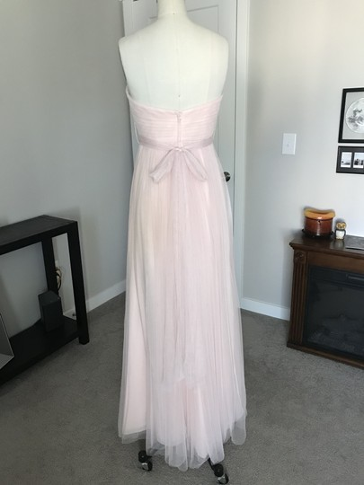 BHLDN Blush Tulle Annabelle Formal Bridesmaid/Mob Dress Size 2 (XS) Image 4