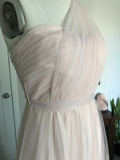 BHLDN Blush Tulle Annabelle Formal Bridesmaid/Mob Dress Size 2 (XS) Image 5