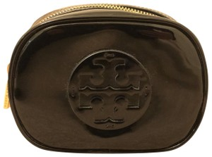 Tory Burch Tory Burch Black Patent Leather Cosmetic Case