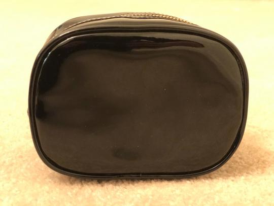 Tory Burch Tory Burch Black Patent Leather Cosmetic Case Image 1