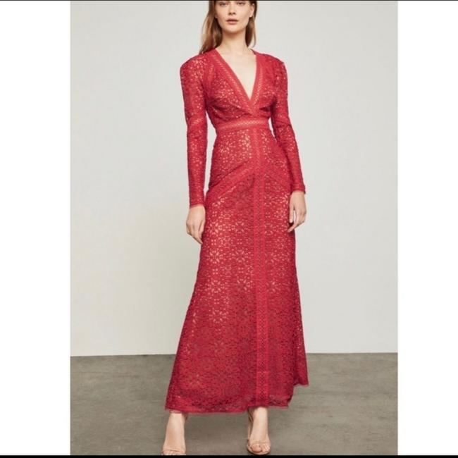 Item - Red Mosaic Maxi Long Cocktail Dress Size 2 (XS)